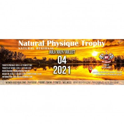 Natural Physique Trophy Spray Tanning Service.