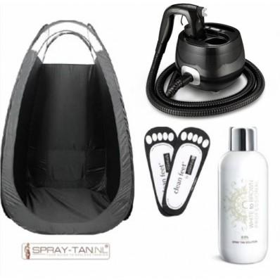 Superweekactie Spray Tanning Starterkit incl. CURSUS van 2,5 uur bij U OP LOCATIE!*