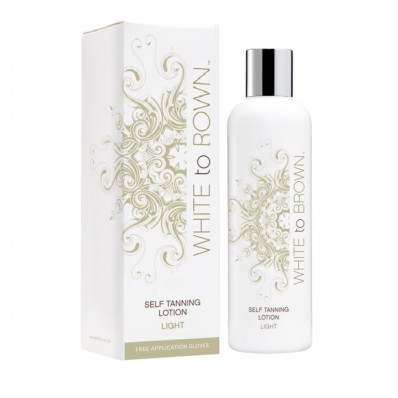Whitetobrown Self Tan Lotion - Light 250 ml