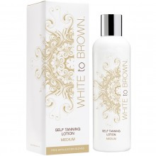 Whitetobrown Self Tan Lotion - Medium (250 ml)